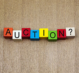 Selling at auction