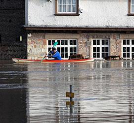 Flood risk area
