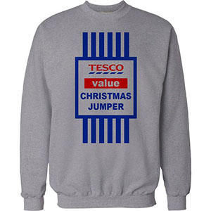 Tesco Value Christmas Jumper