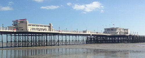 The Pier In Worthing, West Sussex