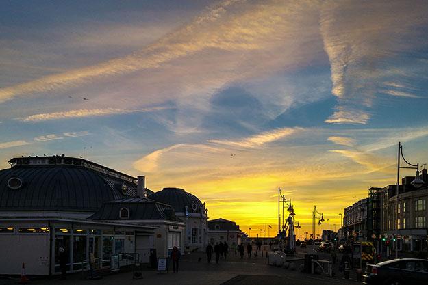 Worthing Seafront Sunset