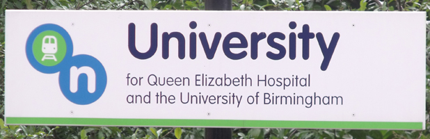 University Welcome Sign