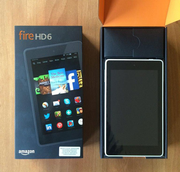 Win an Amazon Kindle Fire HD6 Tablet