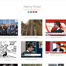 Henry Pryor Website