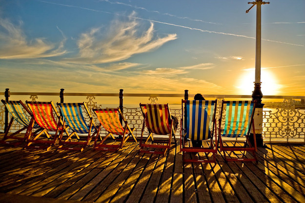 Colourful Deck Chairs