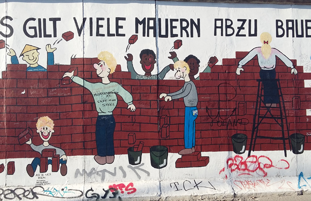 Breaking Down The Berlin Wall East Side Gallery
