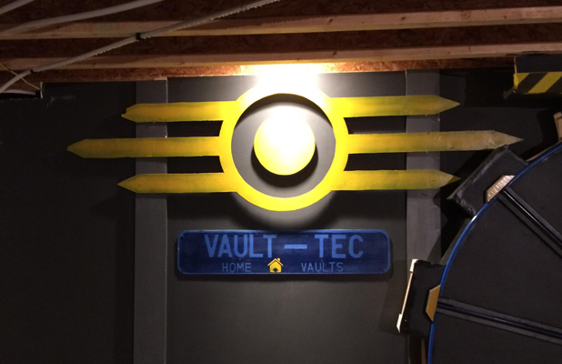 Fallout 4 Vault Inspired Games Room