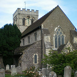 St. Mary's Parish Church, Broadwater