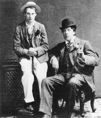 Oscar Wilde and Bosie Douglas