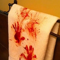 Blood Stained Towels