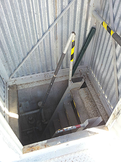 Ladder To Bunker