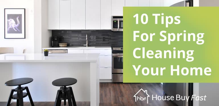 10 tips for spring cleaning your house in a kitchen