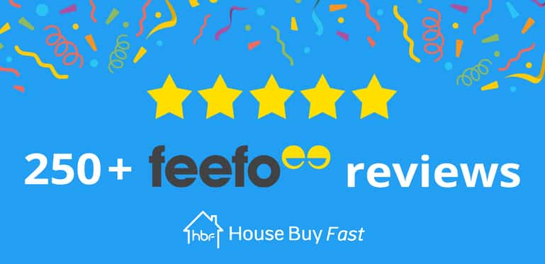 250 feefo reviews banner