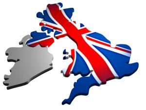 UK with UK flag