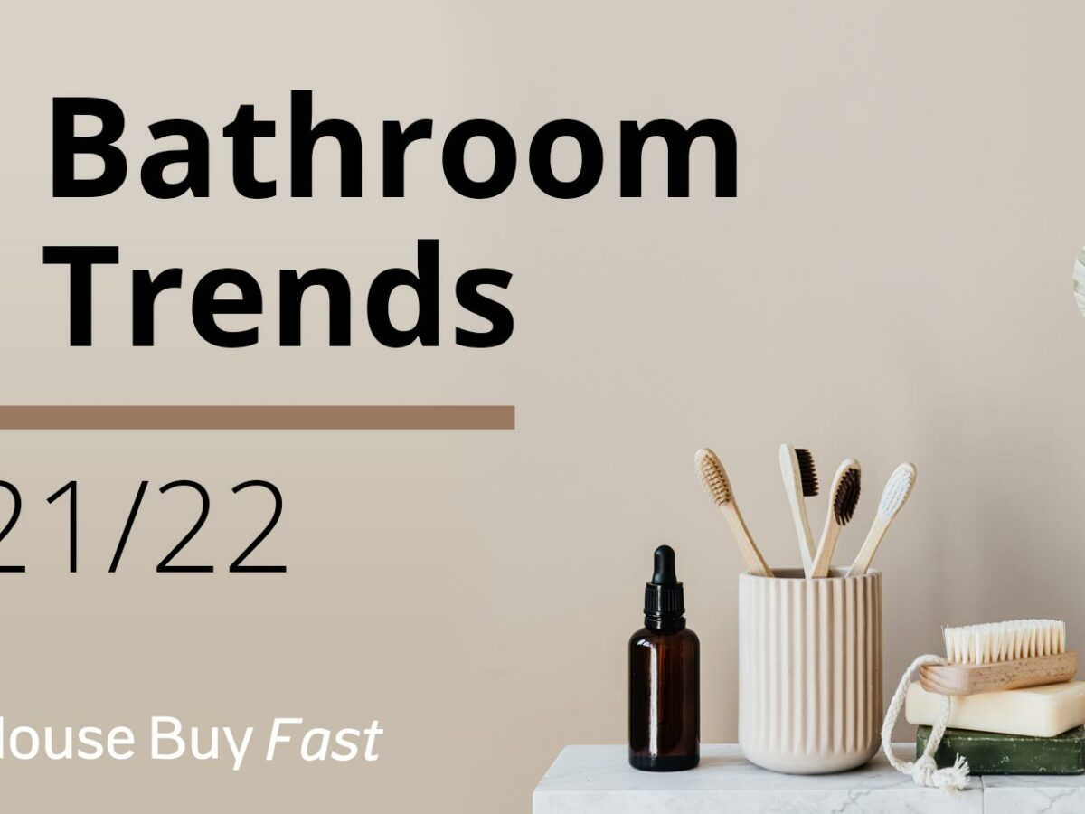 5 bathroom trends for 2021 and 2022